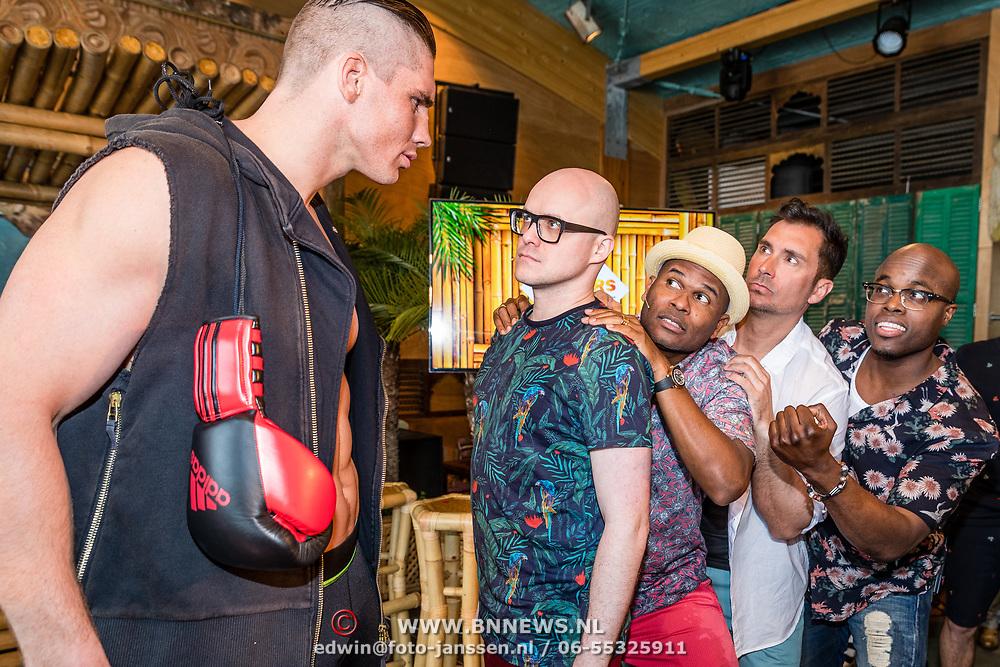 NLD/Overveen/20170330 - Gabbers presenteren nieuwe show, Jandino Asporaat, Guido Weijers, Roue Verveer en een stardown met Philip Geubels en Rico Verhoeven