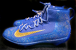 Alex Gordon's 2015 World Series Nike cleats, Kansas City