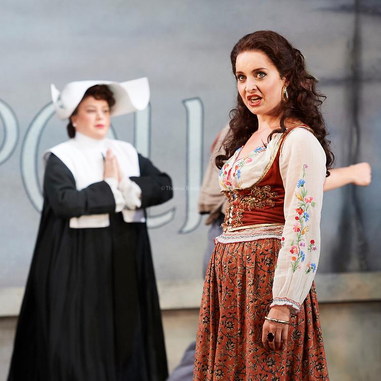 23nd June 2017.Il Turco in Italia, Rossini  at Garsignton Opera. <br /> <br /> Zaidi - Katie Bray<br /> Fiorilla - Sarah Tynan