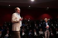 BUSSUM - NVG / NGF/ PGA congres 2018. The drive to happiness. Golfquiz met Daan Slooter en Gerard Louter. .   COPYRIGHT KOEN SUYK
