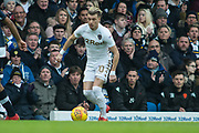 Leeds United Midfielder Ezgjan Alioski in action during the EFL Sky Bet Championship match between Leeds United and Millwall at Elland Road, Leeds, England on 20 January 2018. Photo by Craig Zadoroznyj.