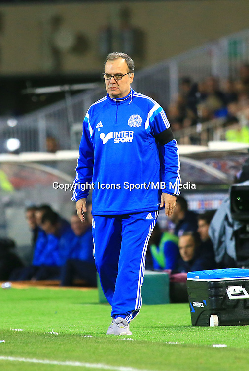 Marcelo BIELSA - 09.01.2015 - Montpellier / Marseille - 20eme journee de Ligue 1<br />