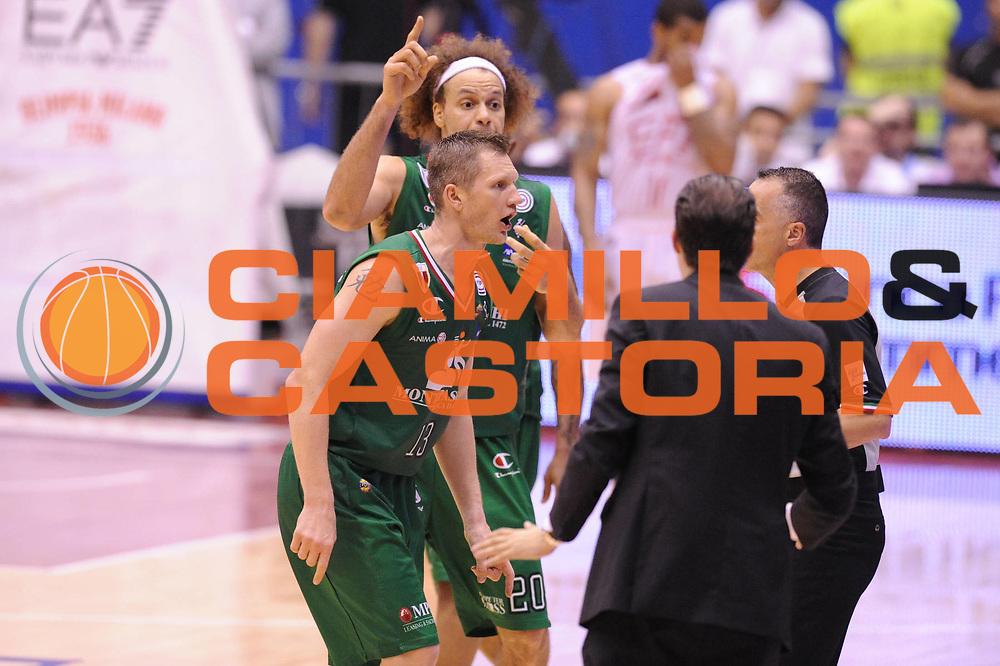 DESCRIZIONE : Milano Lega A 2011-12 EA7 Emporio Armani Milano VS Montepaschi Siena Finale scudetto gara 4<br /> GIOCATORE :  Kaukenas Rimantas Arbitro<br /> CATEGORIA :  Delusione<br /> SQUADRA : Montepaschi Siena <br /> EVENTO : Campionato Lega A 2011-2012 Finale scudetto gara 4<br /> GARA : EA7 Emporio Armani Milano Montepaschi Siena<br /> DATA : 15/06/2012<br /> SPORT : Pallacanestro <br /> AUTORE : Agenzia Ciamillo-Castoria/GiulioCiamillo<br /> Galleria : Lega Basket A 2011-2012  <br /> Fotonotizia : Milano Lega A 2011-12 EA7 Emporio Armani Milano VS Montepaschi Siena Finale scudetto gara 4<br /> Predefinita :