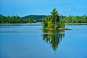 Island i Andy Lake<br /> <br /> Ontario<br /> Canada