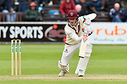 Tom Abell of Somerset batting during the third day of the Specsavers County Champ Div 1 match between Somerset County Cricket Club and Yorkshire County Cricket Club at the Cooper Associates County Ground, Taunton, United Kingdom on 29 April 2018. Picture by Graham Hunt.