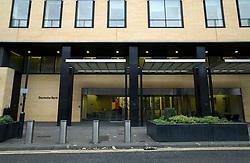 UK ENGLAND LONDON 23NOV11 - Deutsche Bank building in the City of London.....jre/Photo by Jiri Rezac....© Jiri Rezac 2011