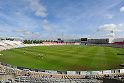 The Ageas Bowl stadium before the second days play in the Specsavers County Champ Div 1 match between Hampshire County Cricket Club and Yorkshire County Cricket Club at the Ageas Bowl, Southampton, United Kingdom on 1 September 2016. Photo by Graham Hunt.