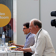 20160615 - Brussels , Belgium - 2016 June 15th - European Development Days - Photographers room - Illustration pictures - Video Edit Room © European Union