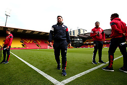 Bristol City head coach Lee Johnson arrives at Vicarage Road for his side's Carabao Cup Match against Watford - Mandatory by-line: Robbie Stephenson/JMP - 22/08/2017 - FOOTBALL - Vicarage Road - Watford, England - Watford v Bristol City - Carabao Cup