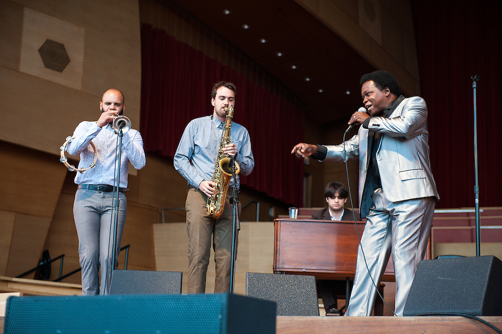 Lee Fields & the Expressions perform at Millennium Park