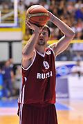 DESCRIZIONE : Cagliari Qualificazione Eurobasket 2015 Qualifying Round Eurobasket 2015 Italia Russia - Italy Russia<br /> GIOCATORE : Egor Vyaltsev<br /> CATEGORIA : Tiro Libero<br /> EVENTO : Cagliari Qualificazione Eurobasket 2015 Qualifying Round Eurobasket 2015 Italia Russia - Italy Russia<br /> GARA : Italia Russia - Italy Russia<br /> DATA : 24/08/2014<br /> SPORT : Pallacanestro<br /> AUTORE : Agenzia Ciamillo-Castoria/ Luigi Canu<br /> Galleria: Fip Nazionali 2014<br /> Fotonotizia: Cagliari Qualificazione Eurobasket 2015 Qualifying Round Eurobasket 2015 Italia Russia - Italy Russia<br /> Predefinita :