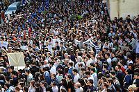 funerale di Melissa Bassi a Mesagne il 21 maggio 2012