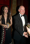 Natalie Theo and Richard Kirk, Save the Children's Festival of Trees Gala dinner. Natural History Museum. London. 4 December 2007. -DO NOT ARCHIVE-© Copyright Photograph by Dafydd Jones. 248 Clapham Rd. London SW9 0PZ. Tel 0207 820 0771. www.dafjones.com.