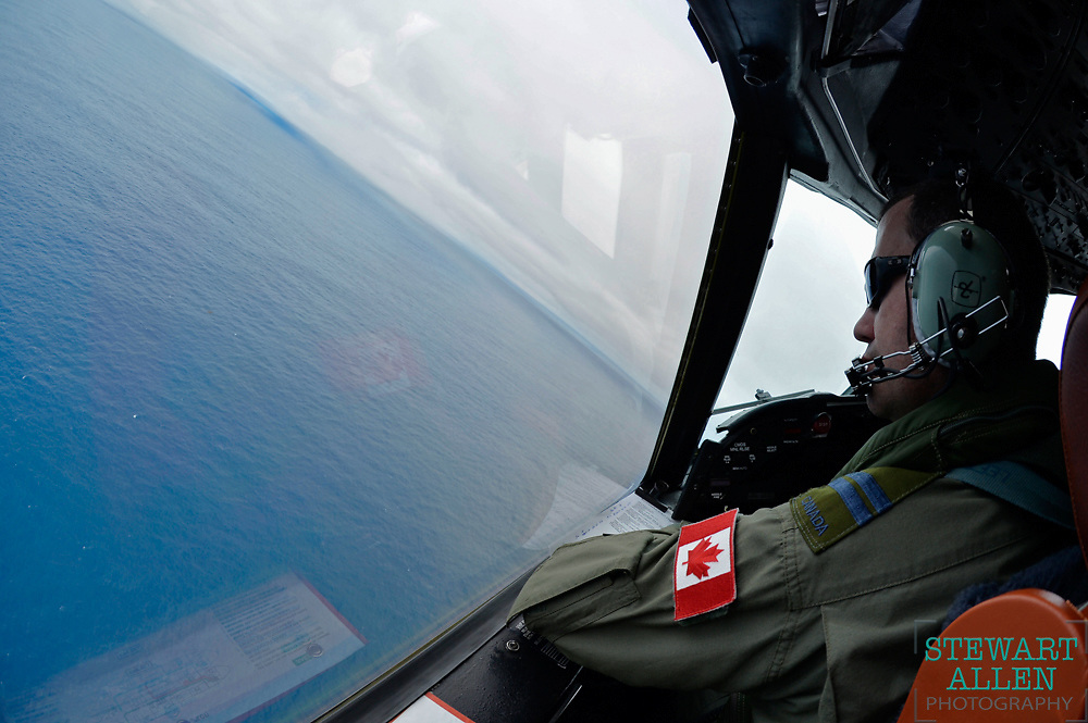 7. Best Picture Essay.<br /> Stewart Allen <br /> The Sunday Times.<br /> Canadian pilot Mike MacSween scans the seas 2,400 kilometres south west of Perth for missing Malaysian plane MH370.