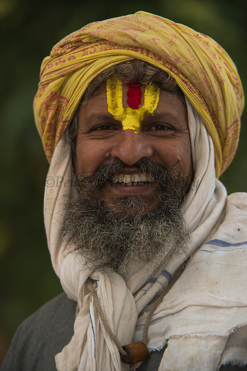 Holy Man<br /> Bharatpur<br /> Rajasthan, India