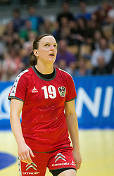01.06.2016 , Olympiaworld, Innsbruck, AUT, EHF, Frauen EM Qualifikation, Österreich vs Spanien, im Bild Katrin Engel (Österreich) // during the during the EHF womens Handball Euro Qualification match between Austria and Spain at the Olympiaworld in Innsbruck, Austria on 2016/06/01. EXPA Pictures © 2016, PhotoCredit: EXPA/ Jakob Gruber