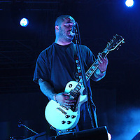 Staind performs at Concrete Street Amphitheater.