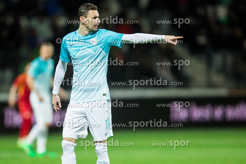 Milivoje Novakovic of Slovenia during friendly football match between National teams of Slovenia and FYR Macedonia, on March 23, 2016 in Stadium Bonifika, Koper/Capodistria, Slovenia. Photo by Vid Ponikvar / Sportida
