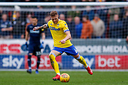 Leeds United defender Liam Cooper (6) in action  during the EFL Sky Bet Championship match between Rotherham United and Leeds United at the AESSEAL New York Stadium, Rotherham, England on 26 January 2019.