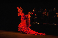 Alegrias danced as part of Metaforo, Ballet Flamenco de Andalucia, Sadler's Wells Flamenco Festival. London 2013