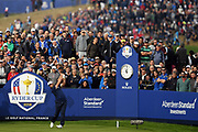 Jon Rahm (Esp) during the friday morning fourballs session of Ryder Cup 2018, at Golf National in Saint-Quentin-en-Yvelines, France, September 28, 2018 - Photo Philippe Millereau / KMSP / ProSportsImages / DPPI
