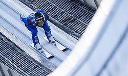 31.12.2017, Olympiaschanze, Garmisch Partenkirchen, GER, FIS Weltcup Ski Sprung, Vierschanzentournee, Garmisch Partenkirchen, Training, im Bild Tilen Bartol (SLO) // Tilen Bartol of Slovenia during his Practice Jump for the Four Hills Tournament of FIS Ski Jumping World Cup at the Olympiaschanze in Garmisch Partenkirchen, Germany on 2017/12/31. EXPA Pictures © 2017, PhotoCredit: EXPA/ Jakob Gruber