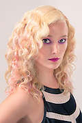 Modern looks are captured on location by Maria Rock Photography as Paul Mitchell Hair stylists showcase their talents in hair cut, color, and style in these contemporary portraits. <br />