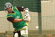 Peter Ingram of the Central Stags pulls a delivery during the Central Stags training session held at St Georges Park in Port Elizabeth on the 17 September 2010..Photo by: Shaun Roy/SPORTZPICS/CLT20