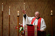 The Rev. Dr. Matthew C. Harrison, president of the LCMS, preaches during the 500th Anniversary of the Reformation service on Tuesday, Oct. 31, 2017, at Concordia Theological Seminary, Fort Wayne, Ind. LCMS Communications/Erik M. Lunsford