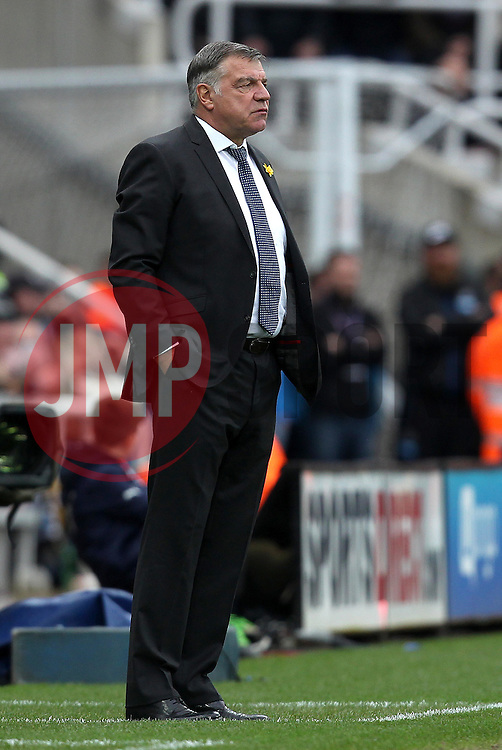 Sunderland Manager Sam Allardyce - Mandatory byline: Robbie Stephenson/JMP - 20/03/2016 - FOOTBALL - ST James Park - Newcastle, England - Newcastle United v Sunderland - Barclays Premier League