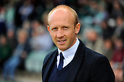 Yeovil Town manager Darren Way before the Sky Bet League 2 match between Yeovil Town and Carlisle United at Huish Park, Yeovil, England on 25 March 2016. Photo by Graham Hunt.