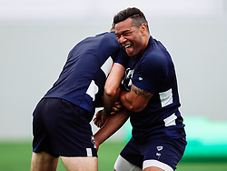Siale Piutau as Bristol Bears start to use their new almost completed Training centre - Rogan/JMP - 08/07/2020 - RUGBY UNION - Beggar Bush Lane - Bristol, England.