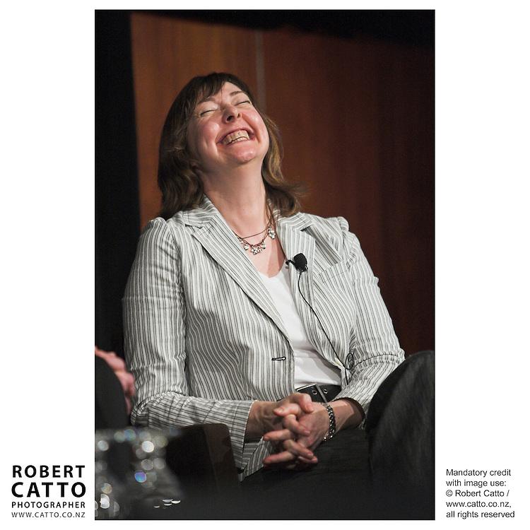 Karen Bieleski at the Spada Conference 06 at the Hyatt Regency Hotel, Auckland, New Zealand.<br />
