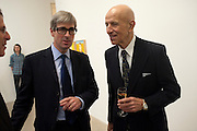 TIMOTHY TAYLOR; ALEX KATZ, Alex Katz opening. Timothy Taylor gallery. London. 3 March 2010.