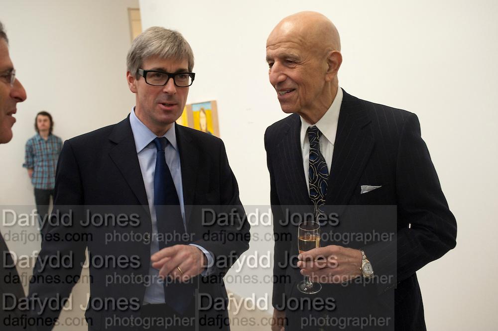 TIMOTHY TAYLOR; ALEX KATZ, Alex Katz opening. Timothy Taylor gallery. London. 3 March 2010.