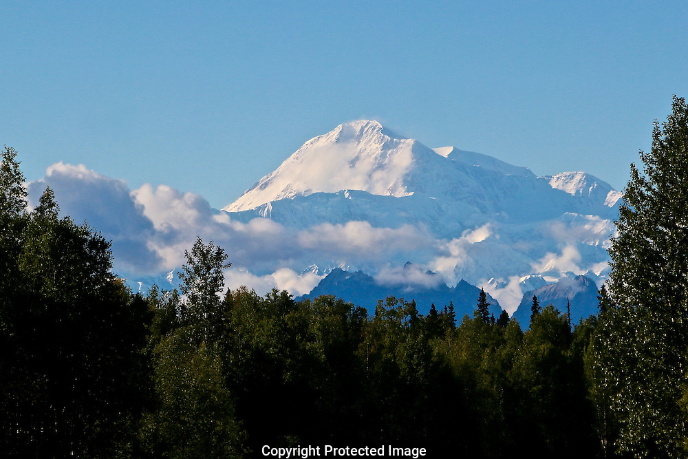 Denali (Mt McKinley) from the south