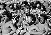 Traditional maori ceremony and war dance, New Zealand