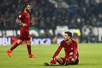 23.12.2017 - Torino  Serie A 18a   giornata  -  Juventus-Roma  nella  foto: Edin Dzeko a terra deluso