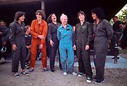 "Sally K. Ride, Shannon W. Lucid, Kathryn D. Sullivan, Margaret ""Rhea"" Seddon, Anna L. Fisher, Judith A. Resnik,"