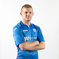 Brian Easton, St Johnstone FC...Season 2014-2015<br /> Picture by Graeme Hart.<br /> Copyright Perthshire Picture Agency<br /> Tel: 01738 623350  Mobile: 07990 594431