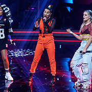 NLD/Hilversum/20190201- TVOH 2019 1e liveshow, optreden Little Mix met Debrah Jade