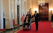 President H.W, Bush and President Barack Obama