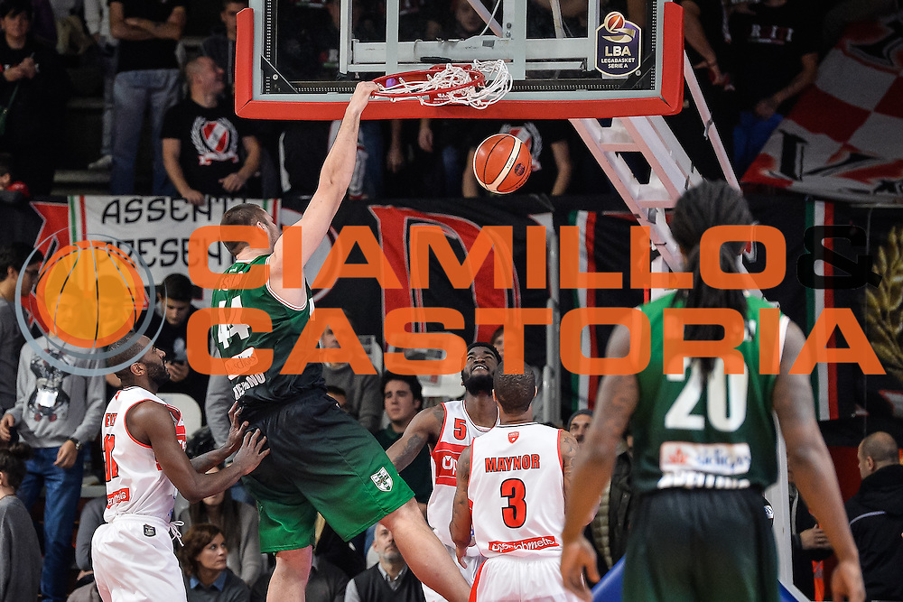 Fesenko Kyrylo<br /> Openjobmetis Varese - Sidigas Avellino<br /> Basket Fiba Champions 2016/2017<br /> Desio 06/11/2016<br /> Foto Ciamillo-Castoria