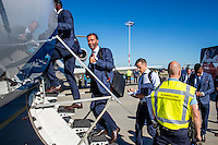 NOVI SAD - 17-08-2016, Vojvodina - AZ, Karadjordje Stadion, vertrek en aankomst, Nick van Aart.