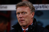 David Moyes Manager of Manchester United before the Barclays Premier League match at Selhurst Park, London<br /> Picture by David Horn/Focus Images Ltd +44 7545 970036<br /> 22/02/2014