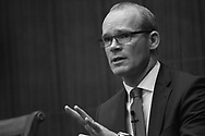 Foreign Affairs Minister Simon Coveney speaks at CSIS in Washington, DC