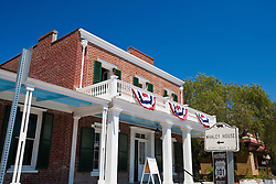 Exterior of Whaley House, Old Town San Diego, California, United States of America