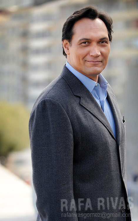 "US actor Jimmy Smits, poses for photographers, on September 26, 2009, after the screening of Rodrigo Garcia's film ""Mother and Child"", during the 57th San Sebastian International Film Festival, in the northern Spanish Basque city of  San Sebastian. PHOTO/Rafa Rivas"