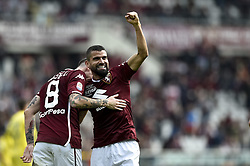 "March 3, 2019 - Torino, Italia - Foto LaPresse/Nicolò Campo .03/03/2019 Torino (Italia) .Sport Calcio .Torino vs ChievoVerona - Campionato italiano di calcio Serie A TIM 2018/2019 - ""stadio Olimpico Grande Torino"" .Nella foto: Tomas Rincon ( Torino FC) esulta dopo gol 2-0 ..Photo LaPresse/Nicolò Campo .March 3, 2019 Turin (Italy).Sport Soccer.Torino vs ChievoVerona  - Italian Football Championship League A TIM 2018/2019 - ""stadio Olimpico Grande Torino"" .In the pic: Tomas Rincon ( Torino FC) celebrates after 2-0 goal (Credit Image: © Nicolò Campo/Lapresse via ZUMA Press)"