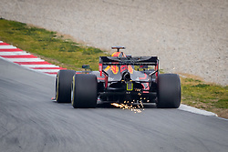 February 19, 2019 - Barcelona, Spain - Pierre Gasly of Aston Martin RedBull Racing with the new RB15 car during second journey of F1 Test Days in Montmelo circuit, on February 19, 2019. (Credit Image: © Javier MartíNez De La Puente/NurPhoto via ZUMA Press)